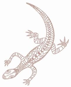 Lizard-Goanna NOdots